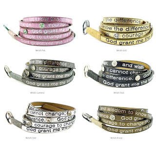 Good Works Serenity Prayer Bracelet viktorviktoriashop.com