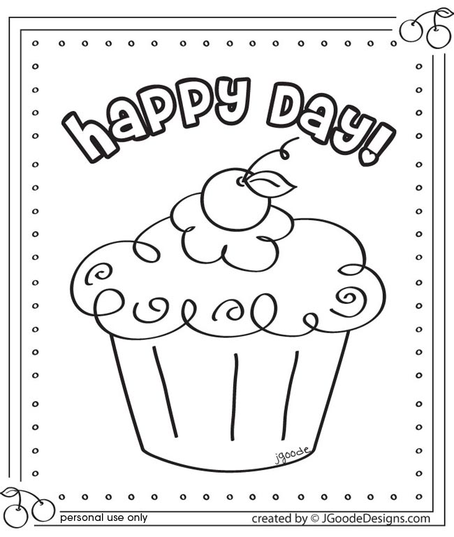 desenhos de cupkape para colorir