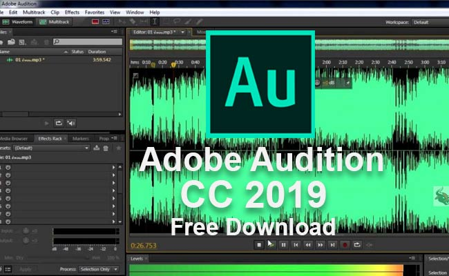 Adobe Audition cc 2019 Pre-Activate Version Free Download
