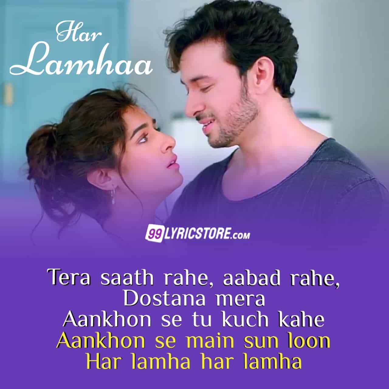 Har Lamhaa Lyrics sung by Papon