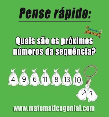 Quais são os próximos números da sequência?