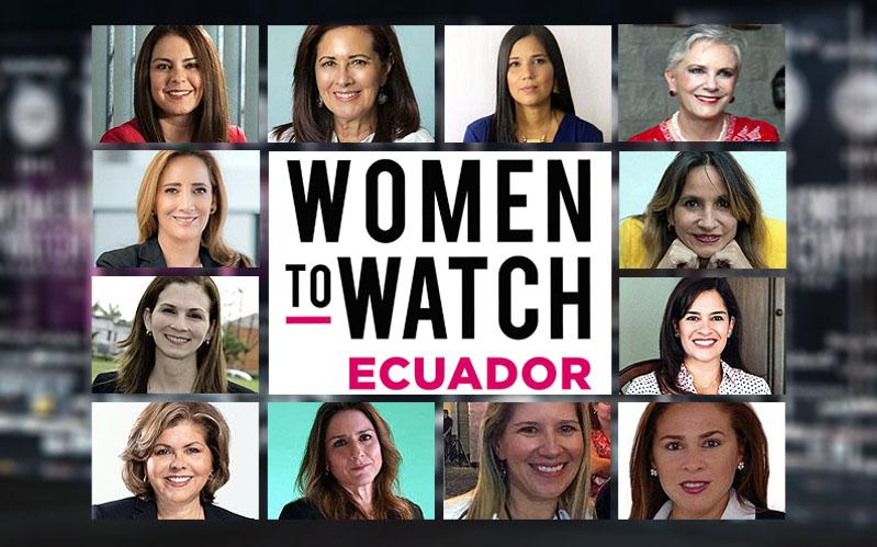 12 ejecutivas serán Women to Watch Ecuador 2019