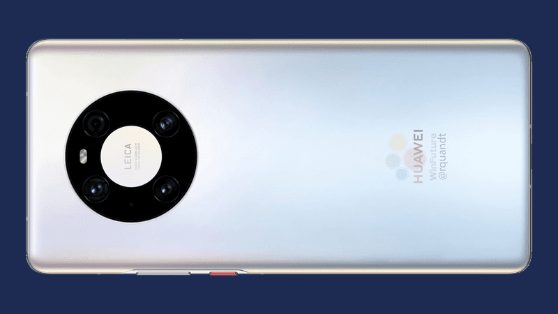 Design of Huawei Mate40 Pro leaks and it looks hot!