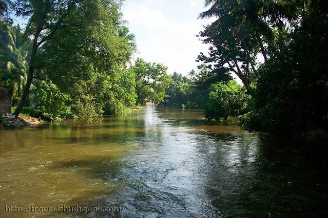 River Cauvery at Kulithalai Kadambar Temple - Dakshina Kasi