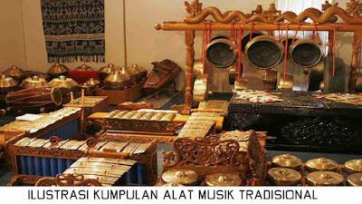 Kumpulan Alat Musik Tradisional Yang Ditiup