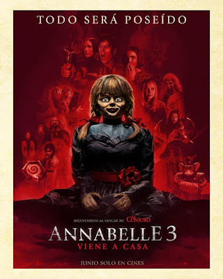 Annabelle Comes Home |2019| |DVD| |Custom| |Latino|