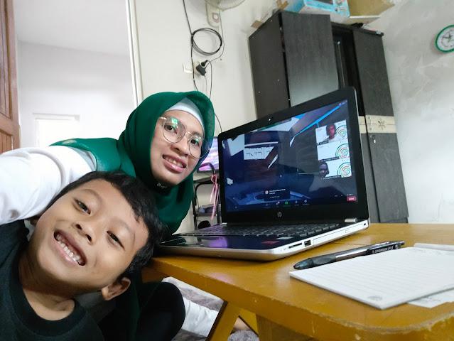 Virtual trip bareng kak idfi BloggerDay 2021 Keluarga Jempolan