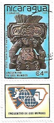 Selo Urna Funerária Zapoteca