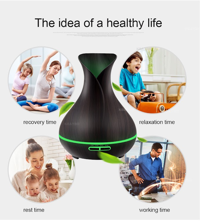 KBAYBO 550ml USB Air Humidifier Aroma  remote control