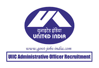 UIIC Administrative Officer Medical Recruitment