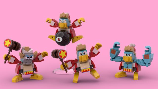 LEGO Ideas King Dedede Kirby's Dreamland buff masked