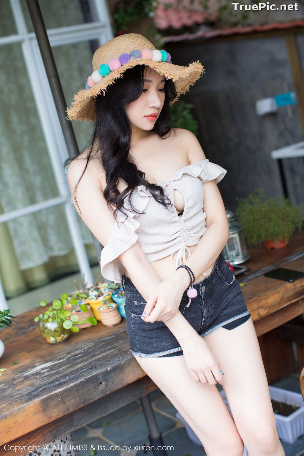Image IMISS Vol.182 – Chinese Model Xiao Hu Li (小狐狸Sica) – Beachwear Fashion - TruePic.net - Picture-1