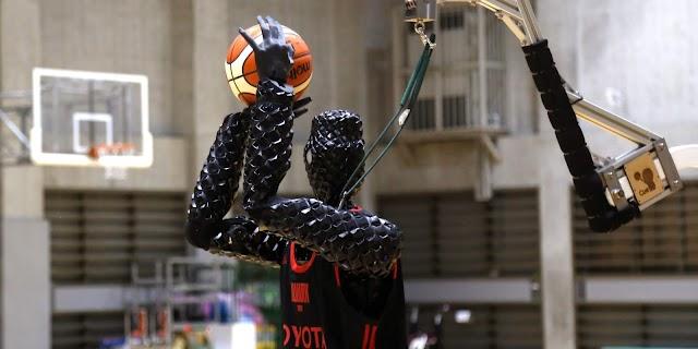 Un robot basquetbolista encestó más de 2 mil tiros libres consecutivos.