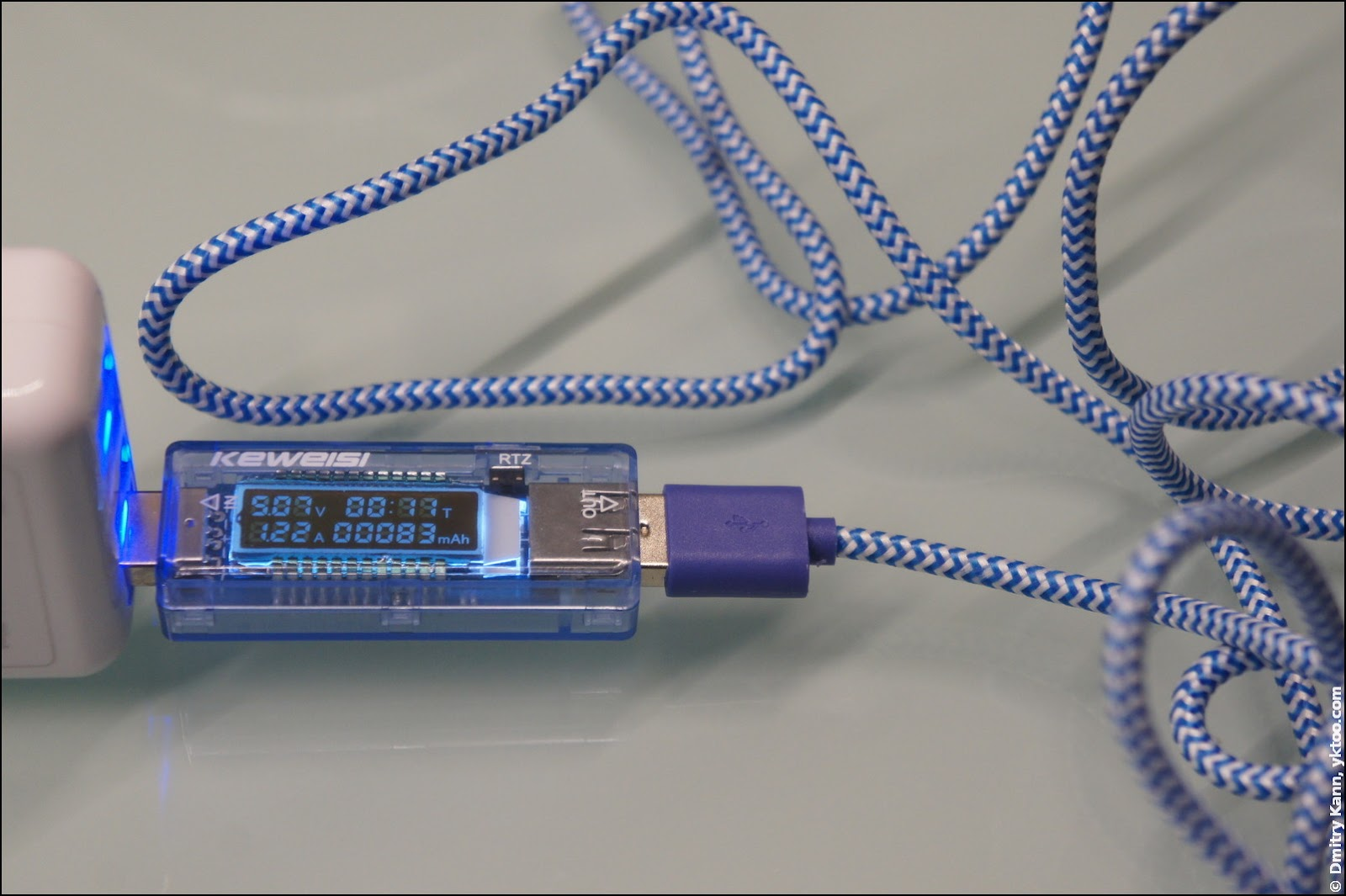 Hema cable: 2 m, current 1.22 A.