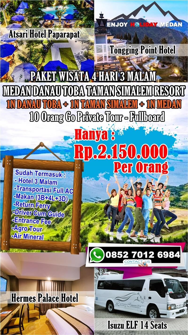 Paket Tour Taman Simalem Resort 5 Hari 4 Malam