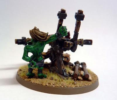 Spear Chukka for Orcs & Goblins, Warhammer Fantasy Battle