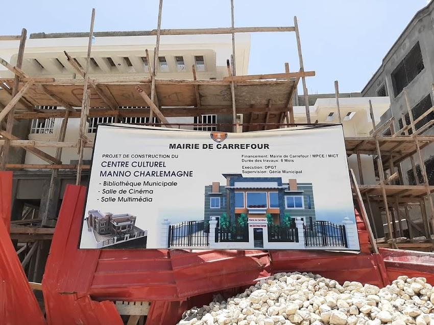 Le centre culturel Manno Charlemagne bientôt disponible pour le public