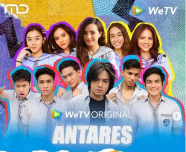 link streaming nonton Antares episode 7 bagian A di WeTV secara gratis hari ini Moreo Selina jadian