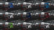 ets 2 european logistics companies paint jobs pack screenshots, ets 2 ford f-max skins 1