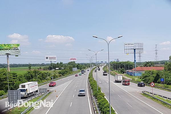Lập báo cáo khả thi mở rộng cao tốc TP HCM - Long Thành - Dầu Giây