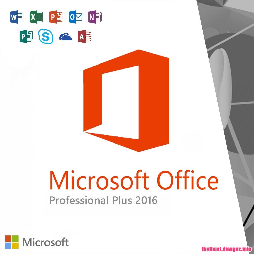 Download Microsoft Office 2016 Professional Plus 16.0.4639.1000 Full Cr@ck