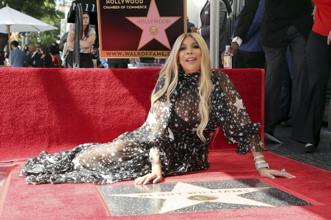 Wendy Williams honored with Star on Hollywood Walk of Fame