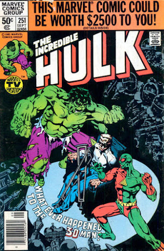 Incredible Hulk #251, the 3-D Man