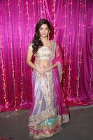 Ritika Sing in Golden Pink Choli Ghagra Cute Actress Ritika Sing ~  014.JPG