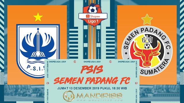Prediksi PSIS Semarang Vs Semen Padang, Jumat 13 Desember 2019 Pukul 18.30 WIB @ Indosiar