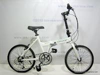 1 Sepeda Lipat FORWARD HA45 Alloy Frame 7 Speed Shimano 20 Inci