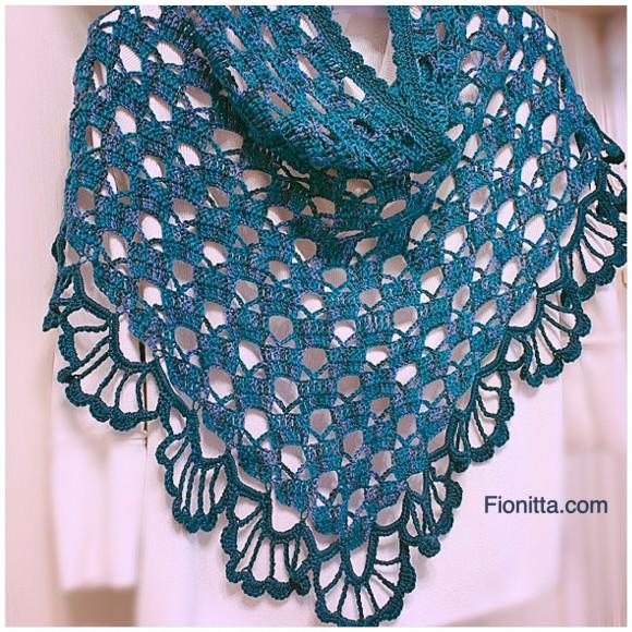 Irish crochet &: SHAWL =