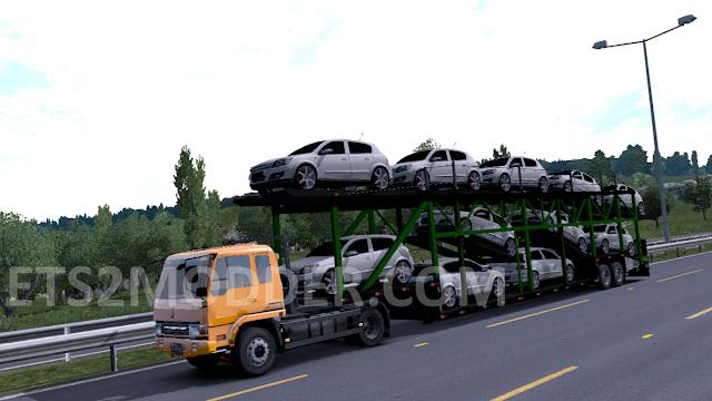 Trailer Car Cegonha ETS2