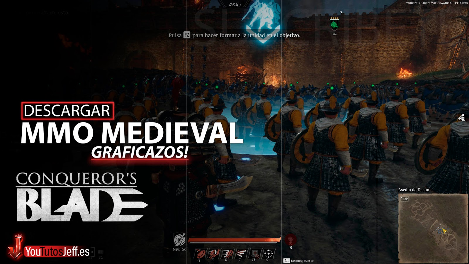 MMO Medieval, Descargar Conqueror's Blade para PC Gratis Español
