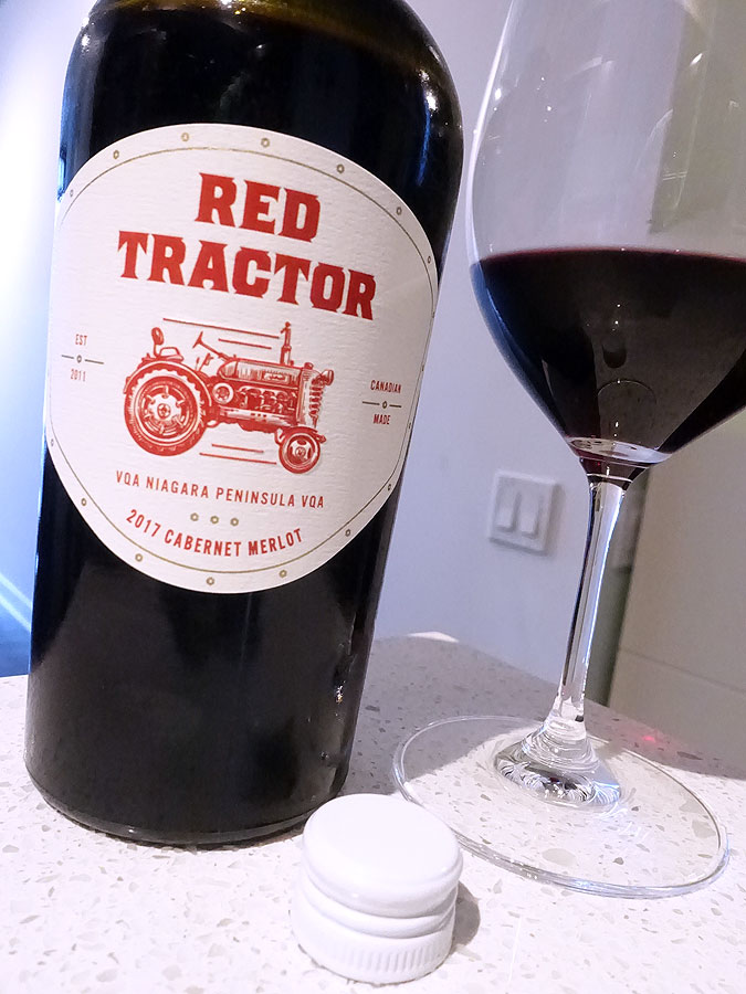 Red Tractor Cabernet Merlot 2017 (88 pts)