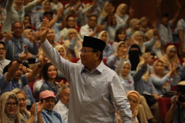 Prabowo: Foto Hasil C1 Lalu Sebarkan