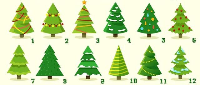 Тест по картинке: выбери елку и узнай, как и где ты проведешь Новый год!