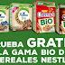 Prueba gratis cereales Nestlé BIO