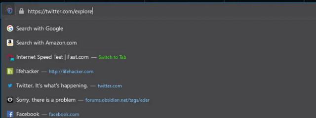 تحميل متصفح فايرفوكس 75 وتعرف علي شريط العناوين الجديد