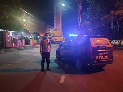 Polsek Medan Kota Laksanakan Pemantauan dan Pencegahan Asmara Subuh Sekitar Stadion Teladan