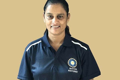 G.S. Lakshmi of India First Woman ICC Match Referee