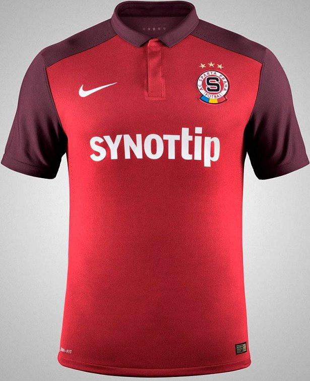 f33dce0b8da40 Nike divulga as novas camisas do Sparta Praga - Show de Camisas