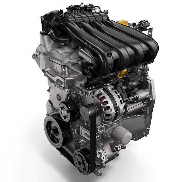 Novo Sandero 2017 - motor