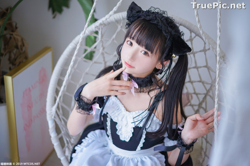 Image [MTCos] 喵糖映画 Vol.051 - Chinese Cute Model - Lovely Maid Cat - TruePic.net - Picture-8