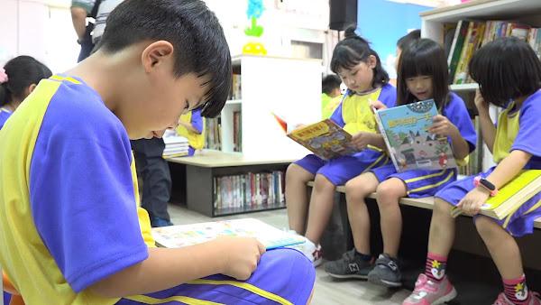 歐德百閱公益捐贈幸福圖書室 彰化偏鄉學子受惠