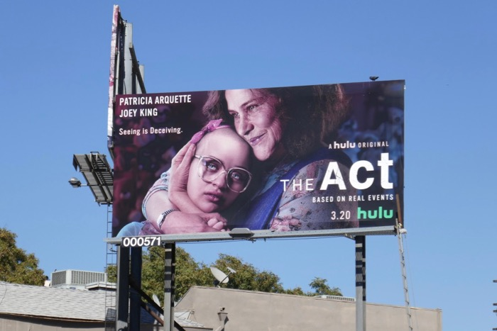 The Act series launch billboard
