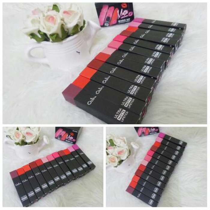 NEW !! OZERA Lip Liner PENCIL Warna Matte