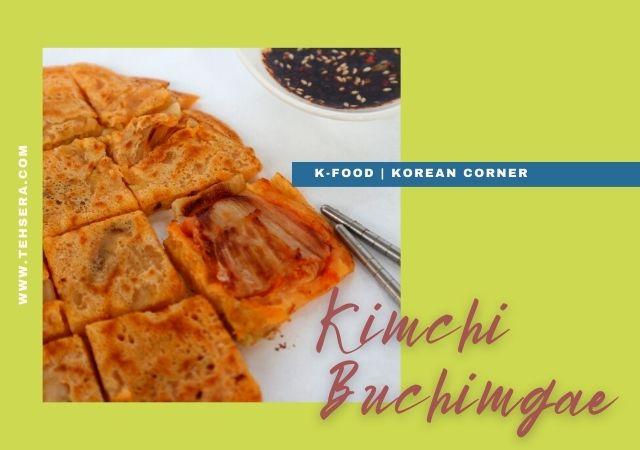 cara membuat pancake kimchi