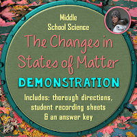 Changes in States of Matter Demonstration Activity