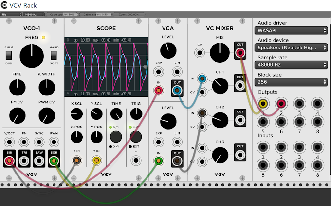 Virtual Eurorack DAW