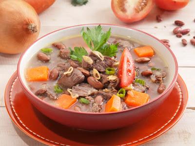 sup kacang merah manado, sup brenebon manado, wisata kuliner, masakan Manado, maknyus,